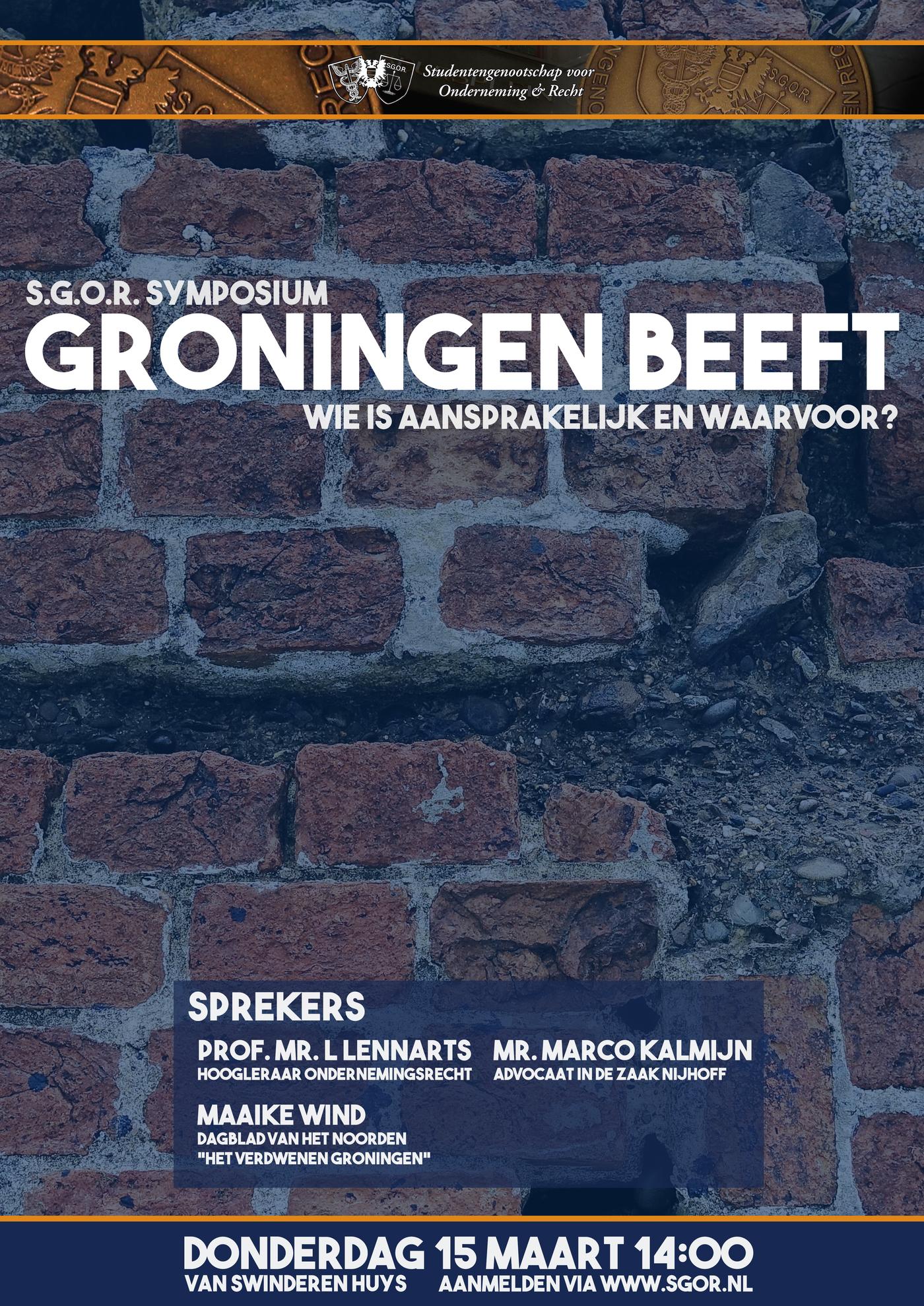 "Symposium ""Groningen beeft"""
