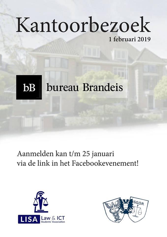 Kantoorbezoek Brandeis (met LISA)