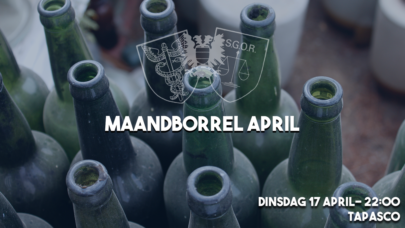 Maandborrel April