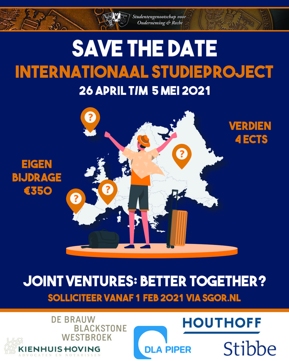 Save the date! ISP komt eraan!