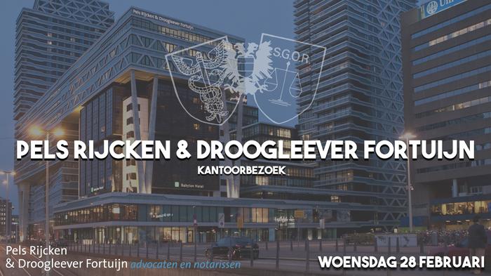 Kantoorbezoek Pels Rijcken & Droogleever Fortuijn